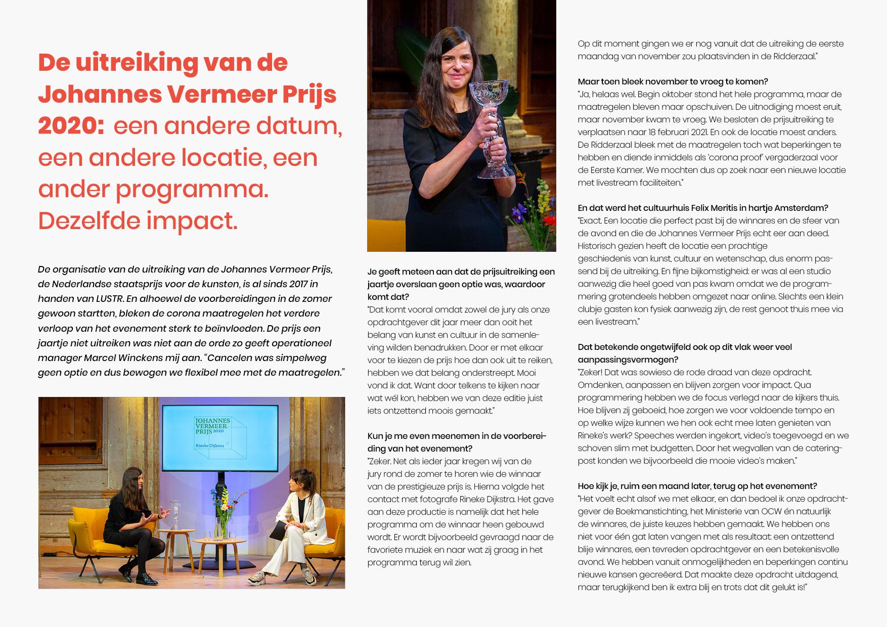 Interview johannes vermeerprijs